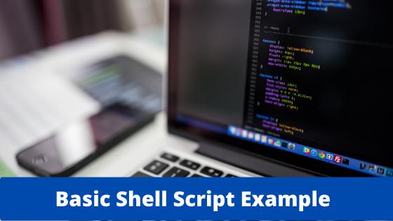 shell script example
